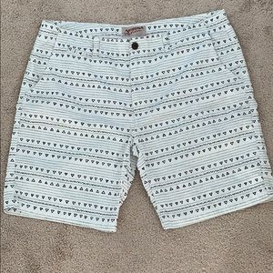 Men's Arizona Flat Front Shorts. Size 42
